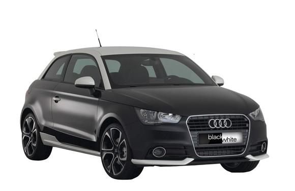 Audi A1 Black&White