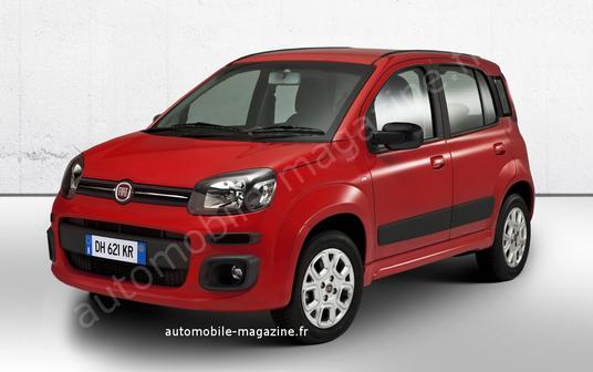 Nuevo Fiat Panda, un anticipo gráfico de la tercera generación