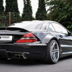 Mercedes Benz SL  r230 FL Black 02