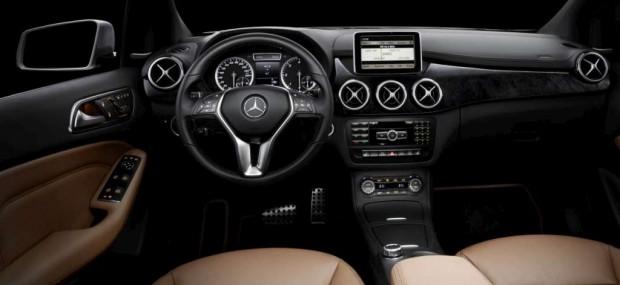 Nuevo Mercedes Benz Classe B, imágenes oficiales del interior