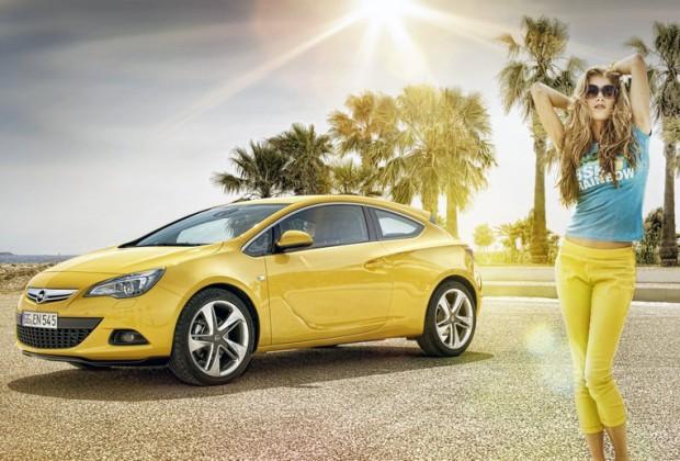 Opel Astra GTC, nueva información técnica