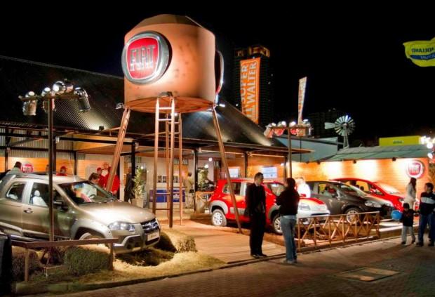 Fiat Auto Argentina, su stand en La Rural 2011 premiado