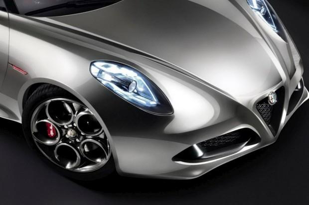 Alfa Romeo 4C Concept, Salón de Frankfurt