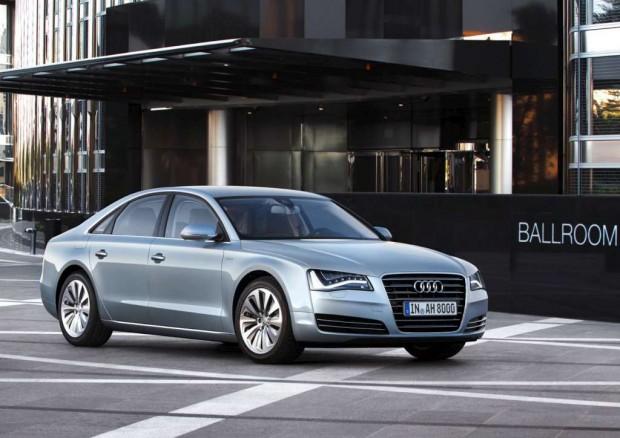 Audi A8 Hybrid en Frankfurt 2011