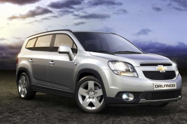 Chevrolet Orlando 2012 para Canadá