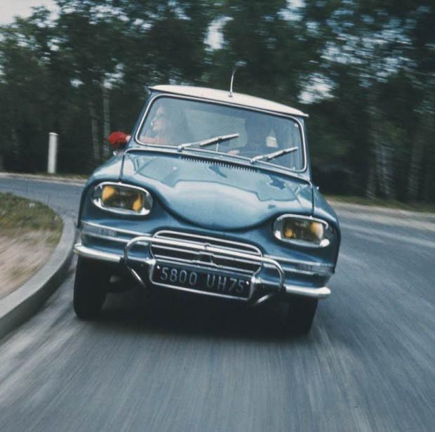 Citroën Ami 6: en 1961 con un estilo inimitable