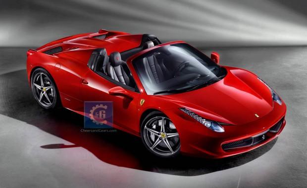 Ferrari 458 Italia Spider primeras fotos oficiales en Internet