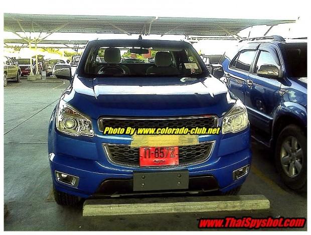 Nueva Chevrolet S10, capturada en Tailandia