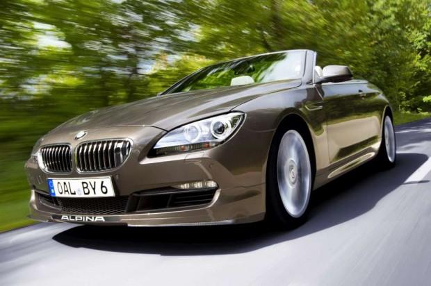 BMW B6 Bi-Turbo Alpina se presenta en Frankfurt