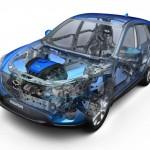 Mazda CX5 08 refuerzos estructurales