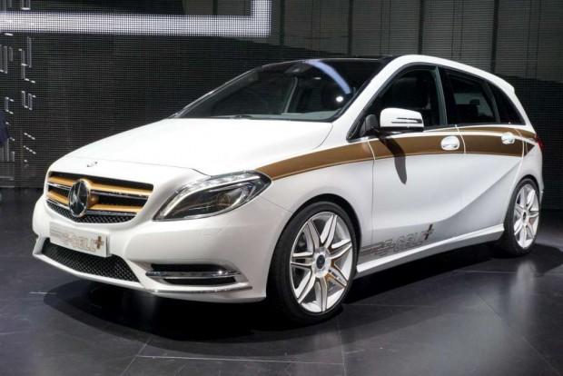 Mercedes Benz Concept B Class E Cell Plus presentado en Frankfurt
