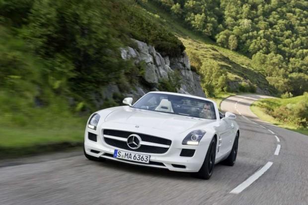 Mercedes SLS AMG Roadster nuevas fotos oficiales