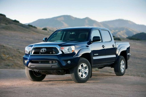 Nueva pick-up Toyota Tacoma 2012