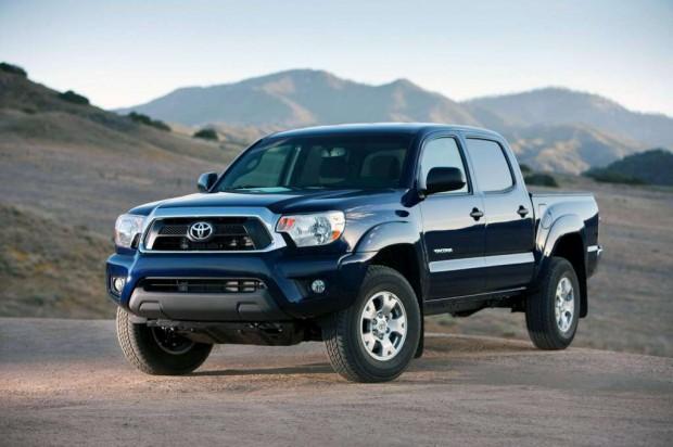 Nueva pick-up Toyota Tacoma 2012
