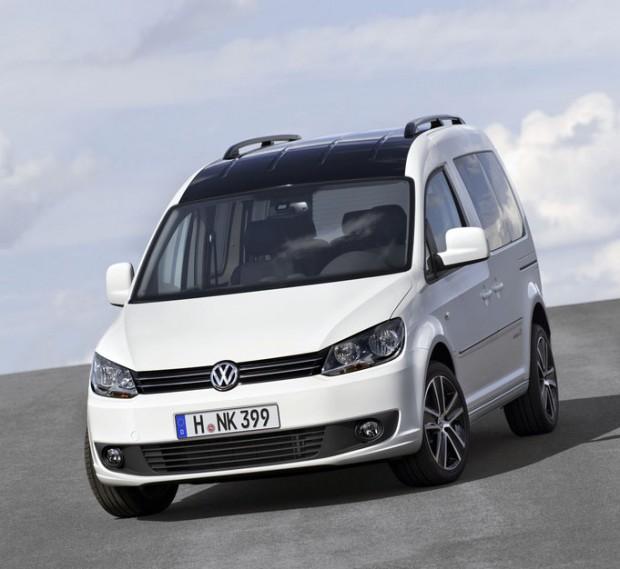 Volkswagen Caddy 'Edition 30? para 2012 en Frankfurt