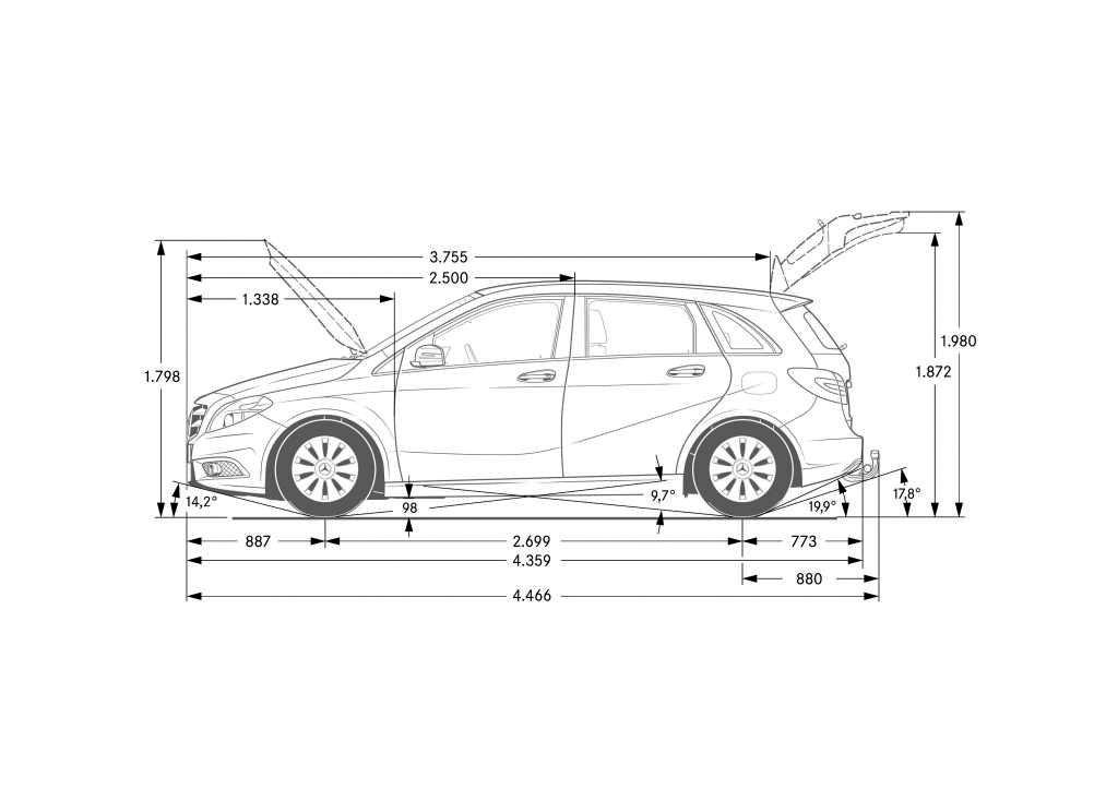 nuevo mercedes benz clase b 2012 mundoautomotor. Black Bedroom Furniture Sets. Home Design Ideas
