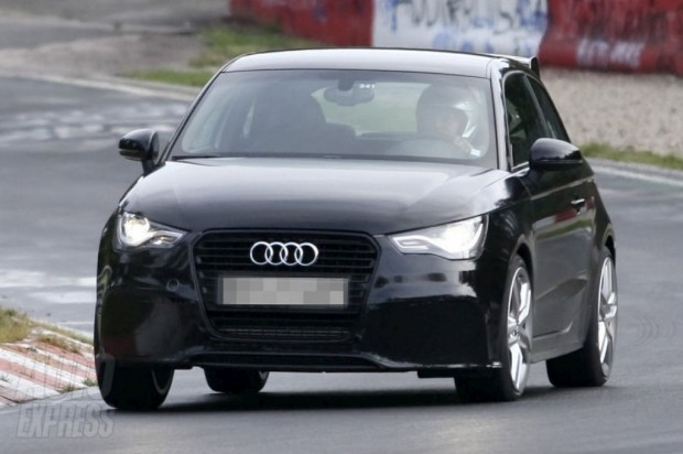 Audi RS1 probando en Nurburgring