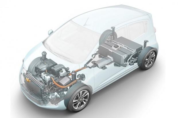 Chevrolet Spark eléctrico para 2013