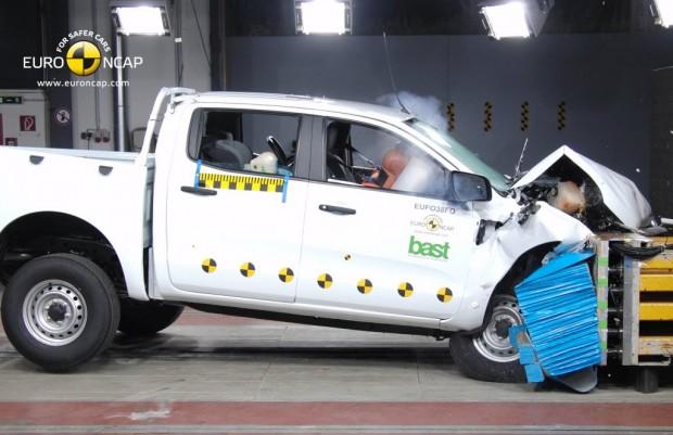 Ford Ranger 2011, 5 estrellas en la EuroNcap