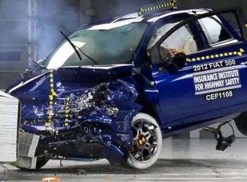 Fiat 500, recibe el premio Top Safety Pick en USA