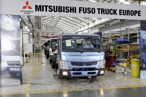 Nuevo camión Fuso Canter producido en Portugal
