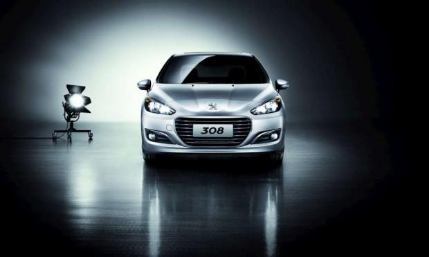 Peugeot 308 Sedán para China