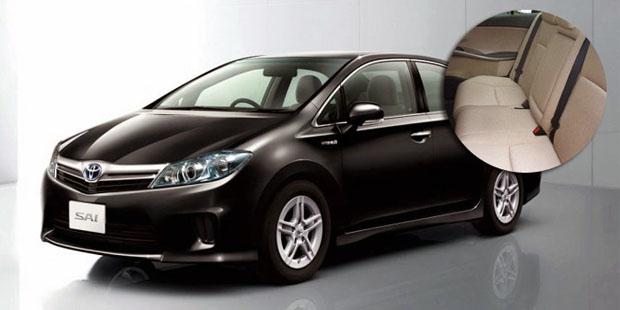 Toyota 'Sai' 2012 recubrimiento interior de plástico ecológico