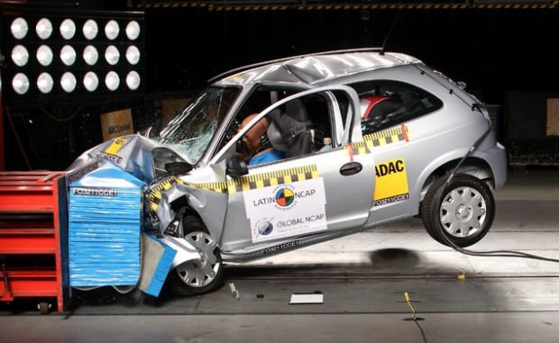 Chevrolet Celta Crash Test