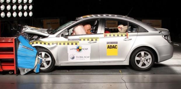 Chevrolet Cruze Crash Test