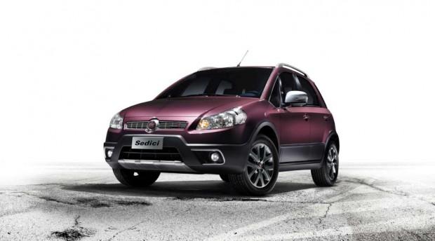 Fiat Sedici 2012 con pequeños cambios