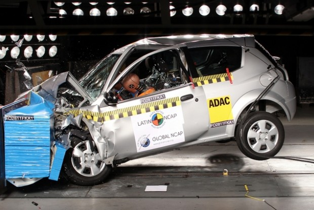 Ford Ka Fly Viral Crash test