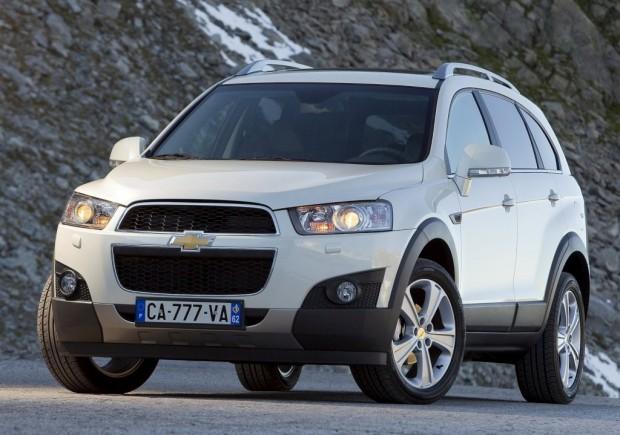 Nueva Chevrolet Captiva desde 164.600 pesos