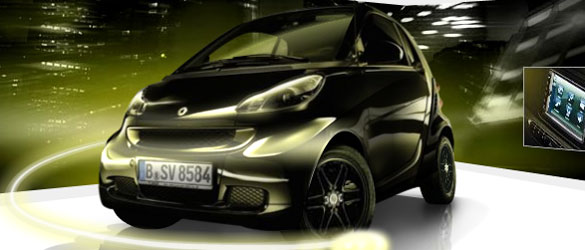 Smart Fortwo Black Tie Limited