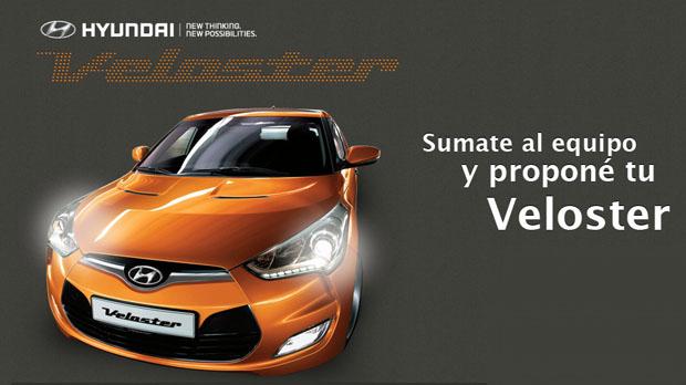 Hyundai Veloster para Argentina, configurado por los internautas argentinos