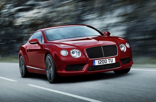 Bentley Continental GT V8, Salón de Detroit
