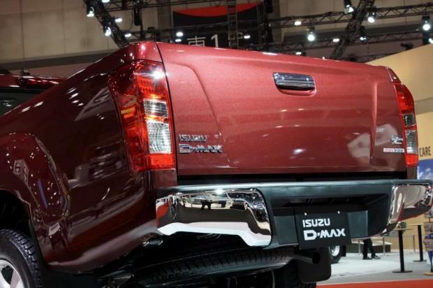 La Isuzu D-MAX es un modelo hermano de la nueva Chevrolet Colorado que