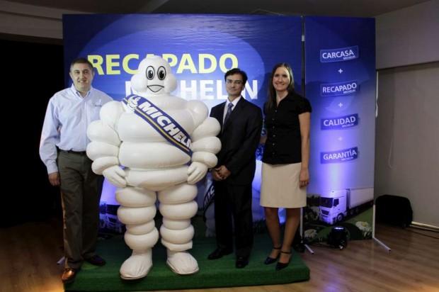 Michelin inauguró su primera planta de recapado en la Argentina