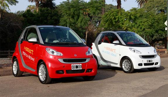 Mercedes Benz y Smart en el verano 2012