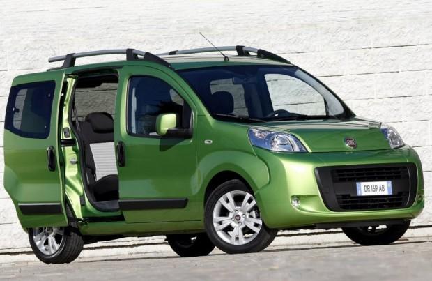 Se presentaron los Fiat Qubo y  Fiorino Qubo