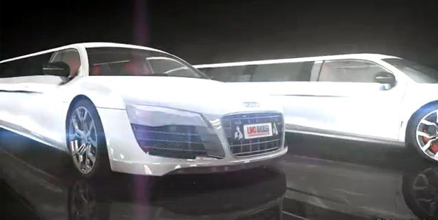 El Audi R8 V10 se convierte en limusina