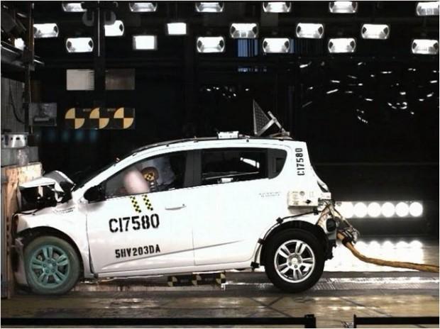 Chevrolet Sonic, recibe 5 estrellas en NHTSA