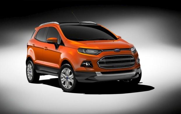 Nueva Ford EcoSport 2012, oficial