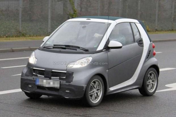Smart Fortwo, fotos del nuevo facelift