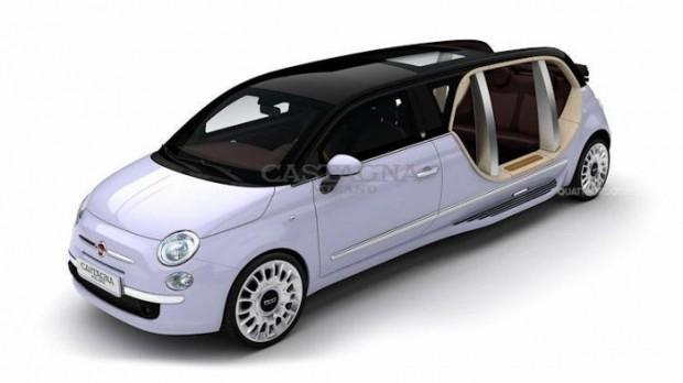 Fiat 500 Eléctrico limosina by Castagna Milano