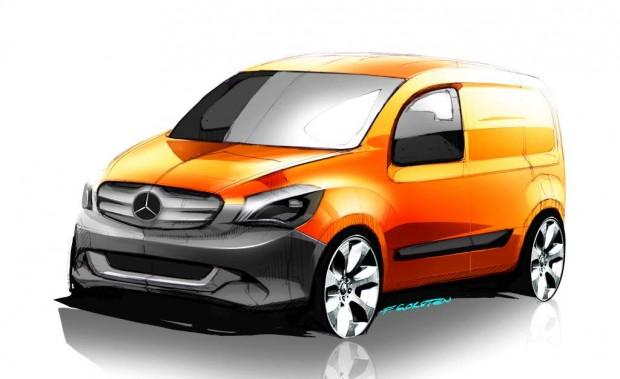 Mercedes Benz Citan, nueva Van para entregas urbanas