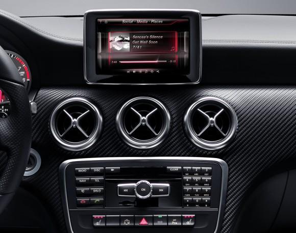 Nuevo Mercedes Benz Clase A, primeras fotos oficiales del interior