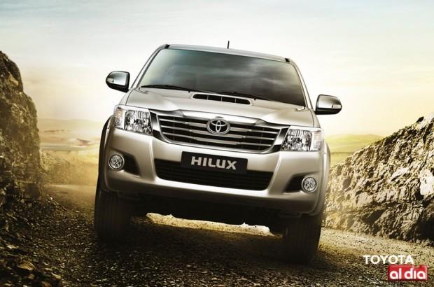 Toyota Hilux 2012, más fotos oficiales