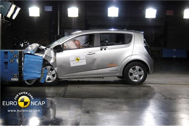 Audi Q3, Chevrolet Aveo, Ford Focus, Mercedes Clase B y Volvo V60, los más seguros según el EuroNcap 2011
