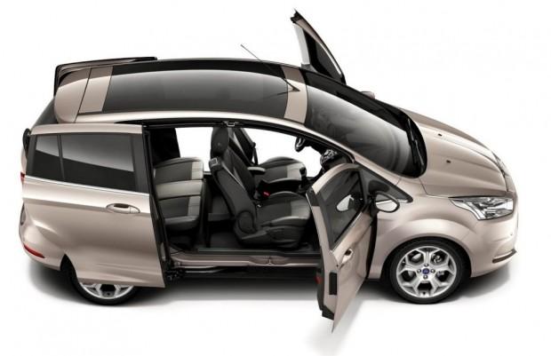Ford B-Max, facilitando el acceso