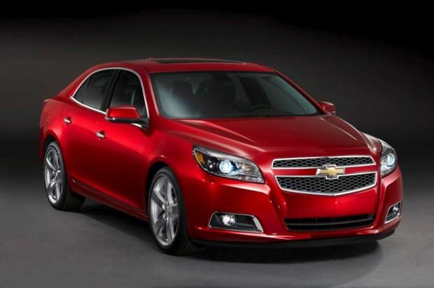 Chevrolet Malibu, mas eficiente para 2013